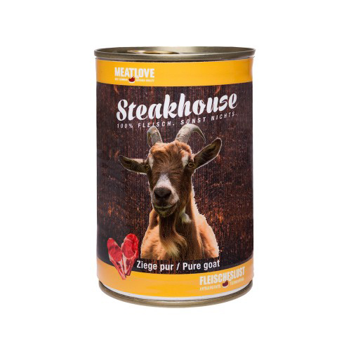 Steakhouse Tinned Pure Goat