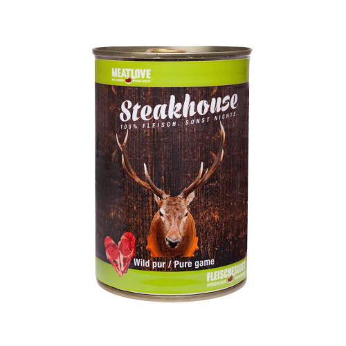 Steakhouse Tinned Pure Game