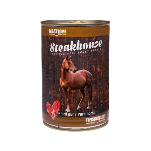 Steakhouse Tinned Pure Horse