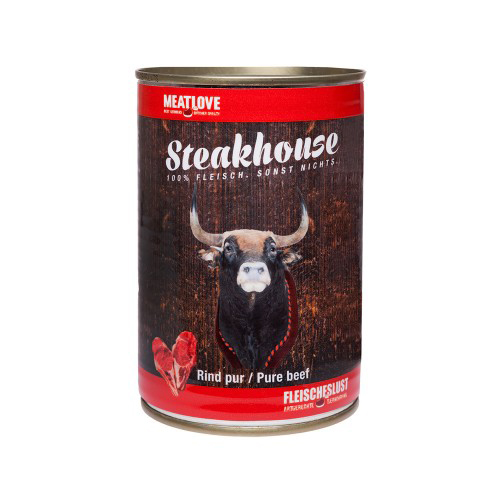 Steakhouse Tinned Pure Beef