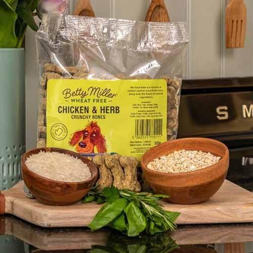 Betty Miller Wheat Free Chicken & Herb bones